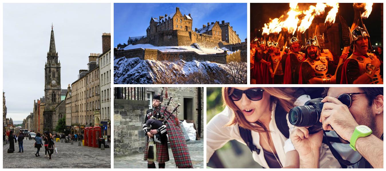 İskoçya Edinburg Yılbaşı Festivali Fotoğraf Turları