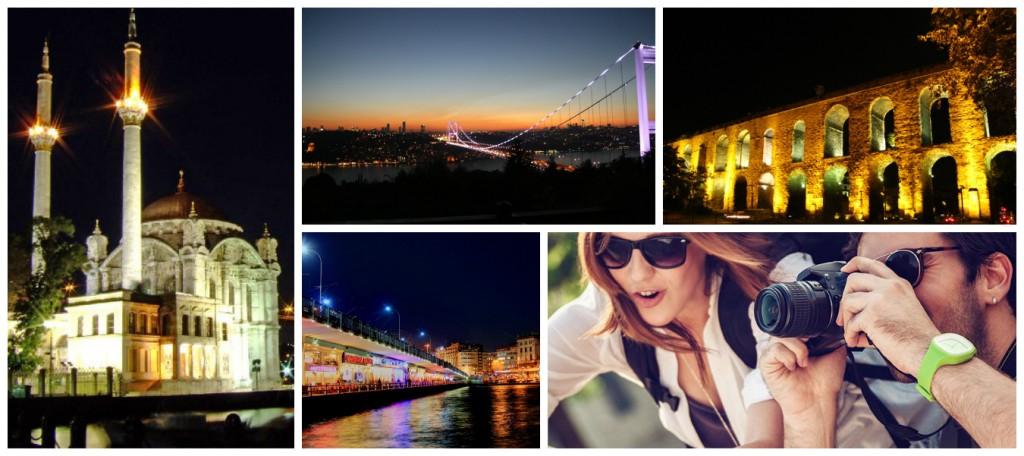 İstanbul Gece Fotoğraf